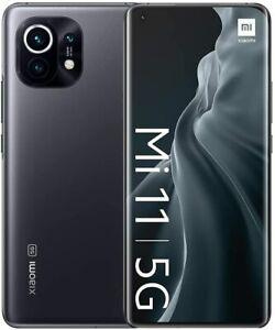 Xiaomi Mi 11 5G, Dual SIM, Grigio Mezzanotte, 256GB 8GB, Garanzia Ufficiale