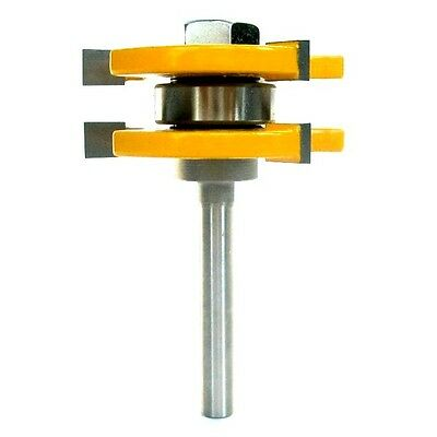 "1PC 1/4"" Shank  Tongue & Groove Assembly  Router Bit  sct-888"