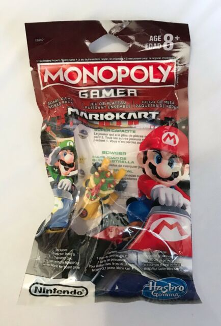 Monopoly Gamer Mario Kart Power Pack - Bowser - NEW Factory Sealed