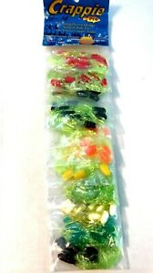 Crappie-Pro-Assorted-Color-Original-Solid-Body-Skirted-Jig-110-Lures-Total