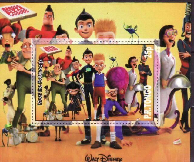 P.R. Tongo   2011  - imperforated  -   Walt Disney  (Meet the Robinsons)