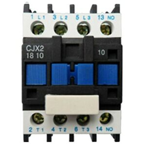 AC Contactor Motor Starter Relay (LC1) CJX2-1810 3P+NO 220V Coil 18A 4KW D7Z3 191466853399