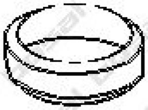 Dichtung Abgasrohr für Abgasanlage BOSAL 256-075