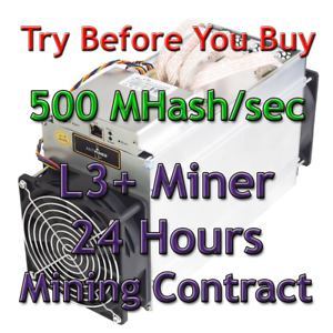 Bitmain-Antminer-L3-500-MHash-sec-Guaranteed-24-Hours-Mining-Contract-Scrypt