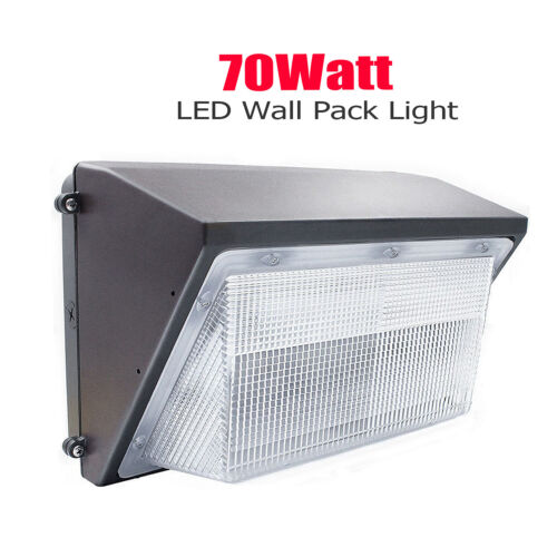 LED Wall Pack 70W 125W  Fixture,Commercial and Industrial Outdoor Light Fixtures