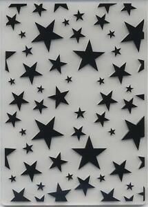 Embossing Folder Starry Background 10.5cm x 14.5cm