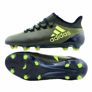 Detalles de Adidas X 17.1 FG Botas de fútbol para hombre CG3664 ~ FútbolFútbol ver título original