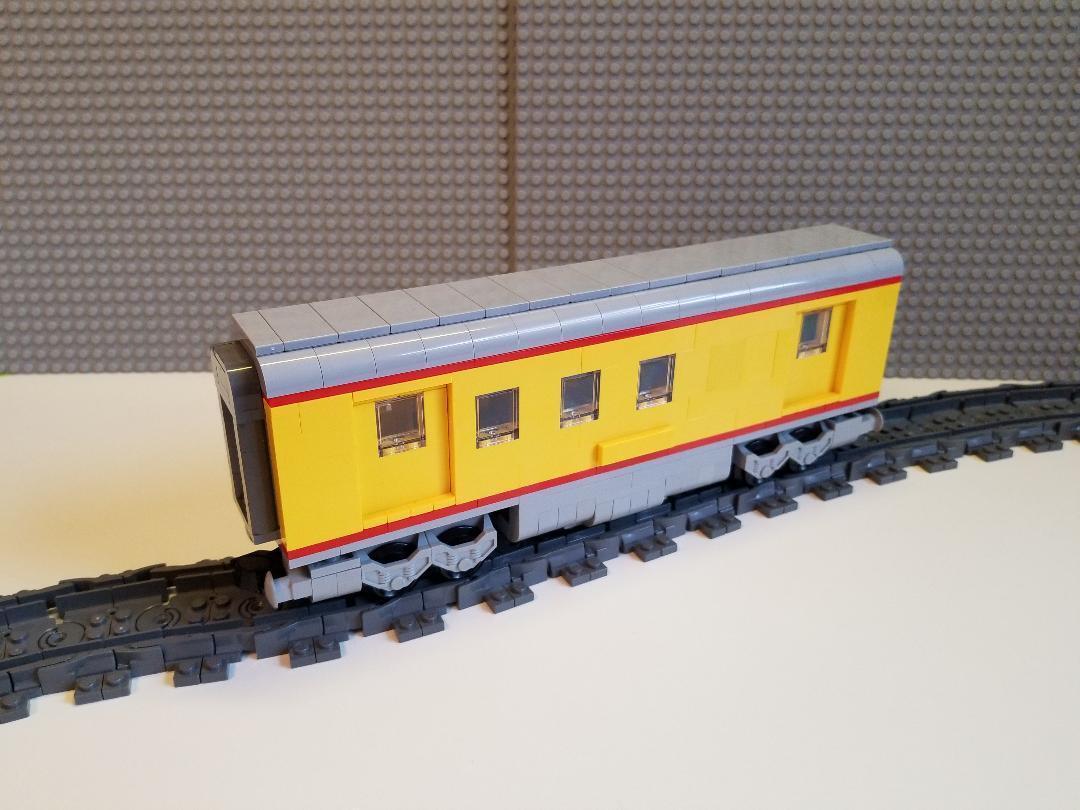 Lego Train Union Pacific Mail Car -- PLEASE READ ITEM DESCRIPTION --