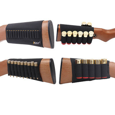 Holsters, Belts & Pouches Hunting Diligent 5/8/ 9/14 Shell Rifle Cartridge Holder Ammo Shotgun Pouch Hunting Gun Buttstock A Complete Range Of Specifications