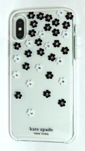 kate-spade-clear-Hardshell-Case-for-Apple-iPhone-X-and-XS-Scattered-Flowers