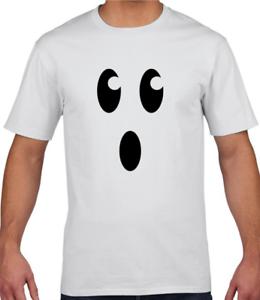 Ghost T-Shirt Kids Halloween Boys Girls Tee Tops