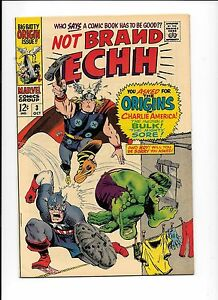 Not-Brand-Echh-3-October-1967-origins-of-Thor-and-Hulk-Alfred-E-Neuman-cameo