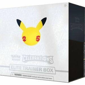 Pokemon 25 years Celebrations Elite Trainer Box Brand New Sealed ETB *Quick*