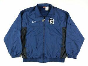 VTG-Nike-Team-Sports-Mens-Georgetown-Hoyas-Basketball-Wind-Breaker-Jacket-XL