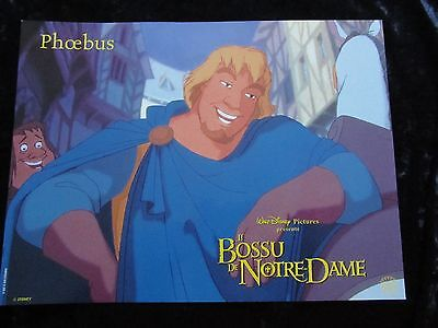 THE HUNCHBACK OF NOTRE DAME  French lobby card  #1 PHOEBUS Walt Disney