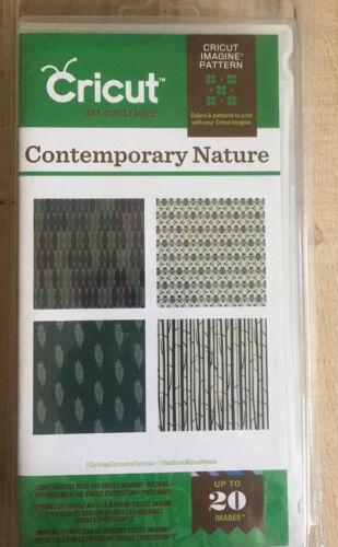 Cricut Imagine Art Cartridge Contemporary Nature zeitgenössische Natur Provo Neu