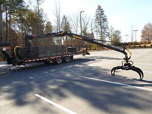 log loader trailer knuckle boom loader   eBay