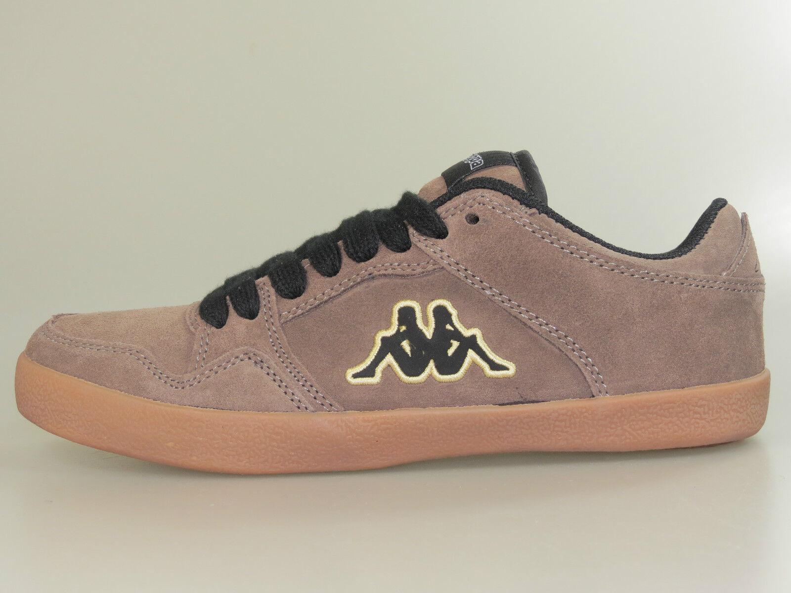 KAPPA chaussures Haze cuir 241543 4111 beige noir +NOUVEAU+tailles différentes