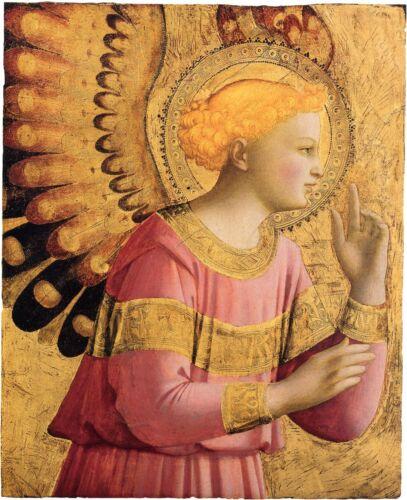 Fine Art Print Fra Angelico Archangel Gabriel