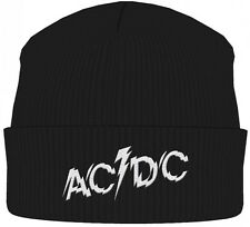 AC/DC 'Logo' Beanie Hat - NEW OFFICIAL