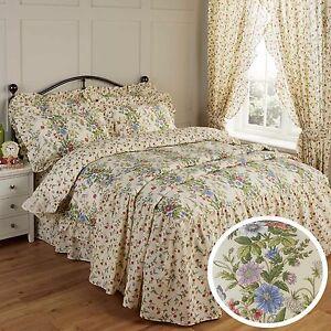 Vantona Country Jessica Duvet Cover Pillowcase S Valance Curtains Bedspread Ebay