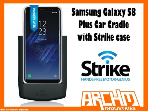 STRIKE ALPHA SAMSUNG GALAXY S8 PLUS CAR CRADLE WITH STRIKE CASE CHARGER