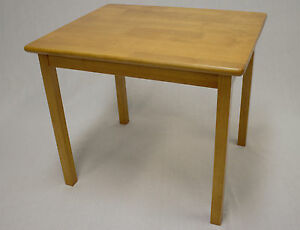 Kids Solid Hard Wood Table in Honey Oak ( without chair)