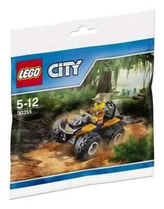 LEGO-CITY-Dschungel-Quad-30355-POLYBAG-NEU-OVP
