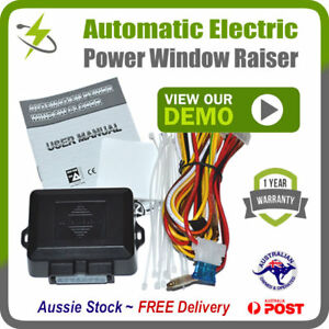 Automatic-Electric-Power-Window-Raiser-2-Door-Kit-FREE-SHIPPING