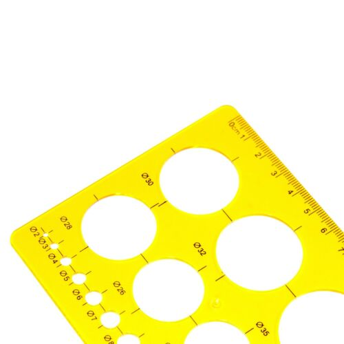 20cm NOBLE Circle Template for students and professional