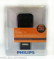 Philips Dlm2260/17 Attachable Battery Pack For Iphone Ipod Ipod Nano Ipod Touch