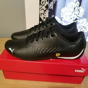 Puma-SF-Drift-Cat-5-Ultra-II-Ferrari-Sneakers-Shoes-306422-03-Blk-Mens-Racing