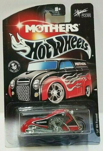 2002 Hot Wheels Mothers Lil/' Bit Foosed Scorchin Scooter Red