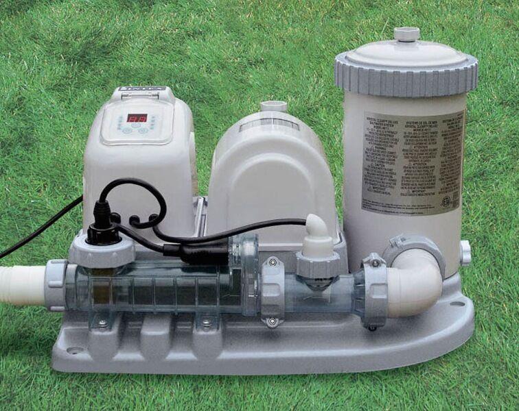 servizio premuroso Generatore di di di cloro Intex clorinatore combo con pompa filtro per piscina 54612  prendi l'ultimo