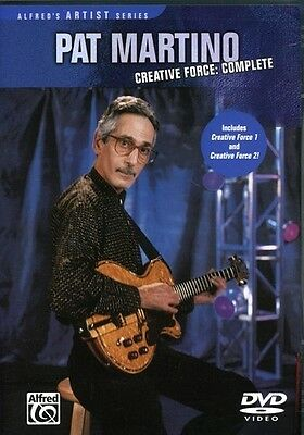 Pat Martino Creative Force Complete Guitar DVD NEW!