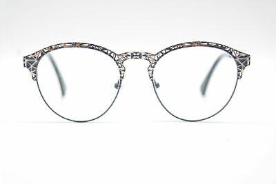 100% Wahr Eyes And More Jolie 172 51[]19 140 Blau Gold Oval Brille Brillengestell Einfach Zu Schmieren