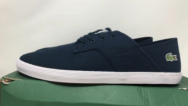 84f7bf46f Lacoste Men s Andover CI SPM CNV Casual Shoe Size 12 for sale online ...