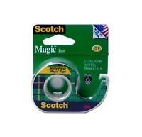12 Packs Scotch 3m 105a 105 Utility Tape Magic Transparent 3/4 (0.75) X 300