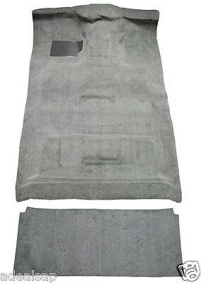 ACC 87-97 FORD CREW CAB 2WD 4-SP DIESEL PICKUP MOLDED CARPET W/ REAR CURTAIN USA