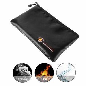 Feuerfeste Dokumententasche Feuersichere Geldkassette Lagerung Safe Wasserdicht