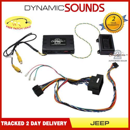Ctujp 01 adaptador de interfaz de control tallo infoadapter Para Jeep Renegade 2015 />