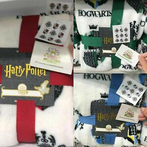 Harry-Potter-case-Hogwarts-tiro-coperta-SQUADRE-camera-da-letto-Primark-Home-Regalo-Magia