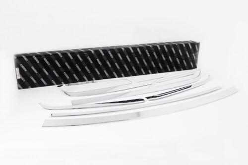 Chrome Fog Lamp Rear Bumper Garnish 6p 1set For 2015 2016 Hyundai Sonata LF