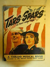 Tars & Spars (Musical Revue concert program) 20 page tabloid Sid Caesar-Gower C.