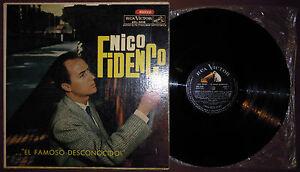 LP-NICO-FIDENCO-El-famoso-Rca-Victor-65-ARGENTINA-Italian-pop-unique-cv-VG