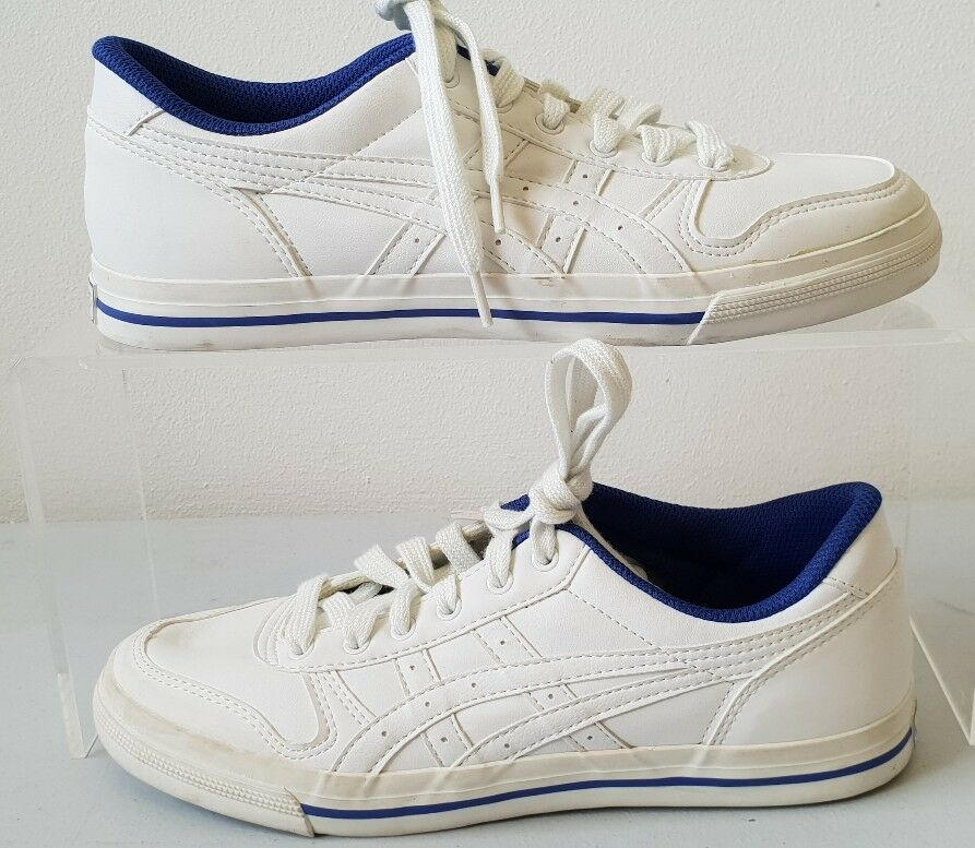 Asics White Tennis Trainers Court Shoes Womens Low Trainers Tennis H282Y T402 640268