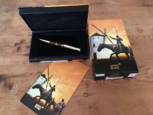 Used-Ballpoint-Pen-MONTBLANC-Boligrafo-MIGUEL-DE-CERVANTES-Limited-Edition