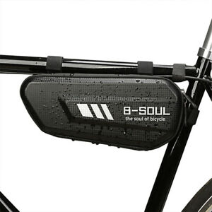 1-EVA-Mountain-Bike-Hard-Shell-Triangle-Bag-Road-Bicycle-Front-Frame-Tube-Pouch