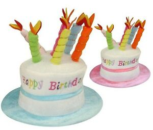 Image Is Loading Adult Happy Birthday Hat Cake With Mock