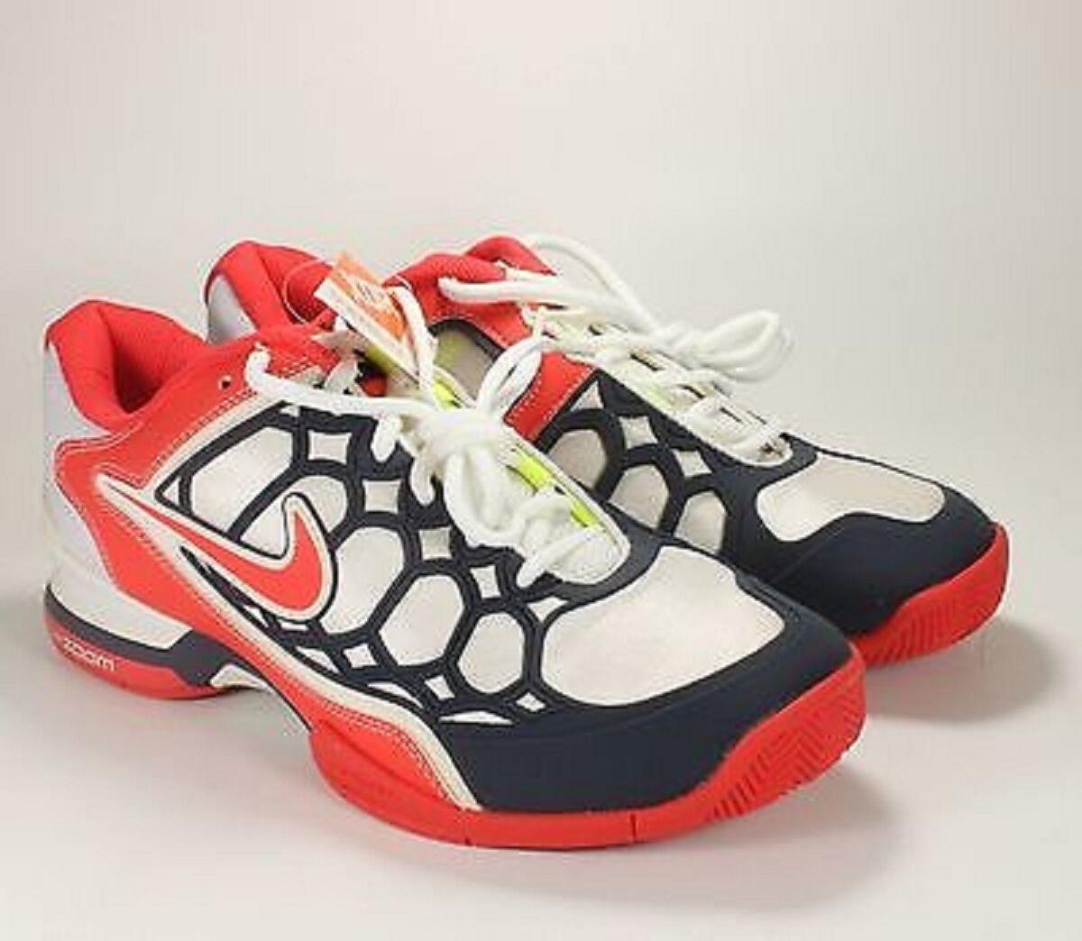 new product 80b5b e6262 NEW donna NIKE NIKE NIKE ZOOM BREATHE 2K (bianca SUNBURST blu) TENNIS scarpe.  518294-164 ee280c